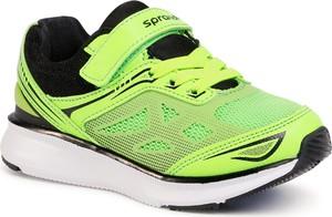 Zielone buty sportowe dziecięce Sprandi sznurowane