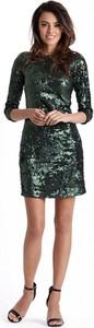 Sukienka Ivon mini w stylu glamour