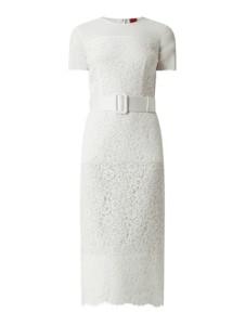 Sukienka Hugo Boss z krótkim rękawem