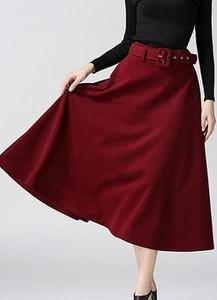 Czerwona spódnica Cikelly midi