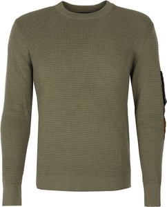 Zielony sweter Diesel w stylu casual