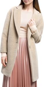 Płaszcz Wittchen w stylu casual z wełny
