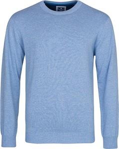 Sweter Redmond z bawełny z okrągłym dekoltem w stylu casual
