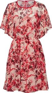 Sukienka Max & Co. z jedwabiu z krótkim rękawem mini