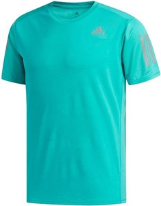 Turkusowy t-shirt Adidas