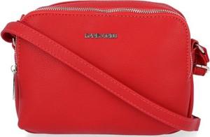 Czerwona torebka David Jones mała na ramię