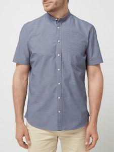 Koszula Montego z krótkim rękawem z bawełny w stylu casual