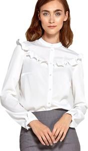 Bluzka Nife z okrągłym dekoltem z długim rękawem