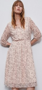 Sukienka Reserved mini z dekoltem w kształcie litery v w stylu casual