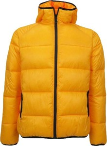 Pomarańczowa kurtka Sunstripes w stylu casual