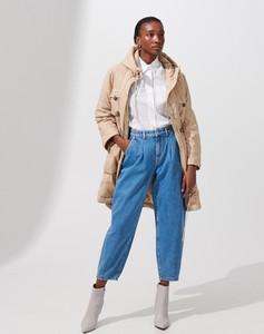 Niebieskie jeansy Reserved z jeansu w street stylu