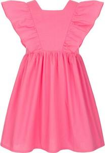 Różowa sukienka dziewczęca Endo