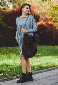 Sukienka Byinsomnia w stylu casual mini z bawełny