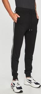 Czarne spodnie Diesel z dzianiny