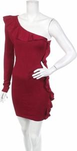 Czerwona sukienka Torn By Ronny Kobo mini