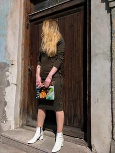 Zielona sukienka fagobutik.pl