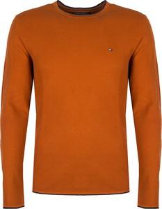 Sweter ubierzsie.com z bawełny z okrągłym dekoltem