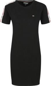 Sukienka Tommy Jeans z krótkim rękawem mini