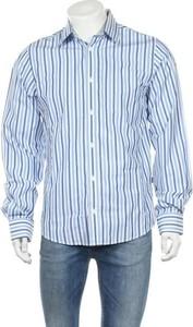 Niebieska koszula Matinique z długim rękawem