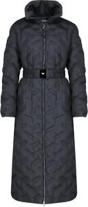 Granatowy płaszcz Emporio Armani