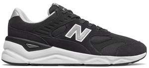 Czarne buty sportowe New Balance z zamszu sznurowane