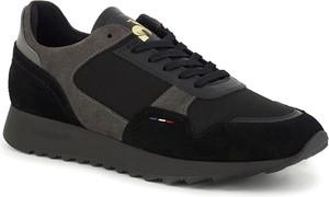 Buty sportowe Le Coq Sportif ze skóry sznurowane