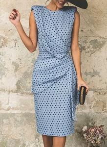 Sukienka Sandbella bez rękawów w stylu casual