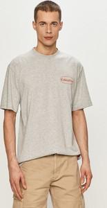 T-shirt Caterpillar z krótkim rękawem z dzianiny