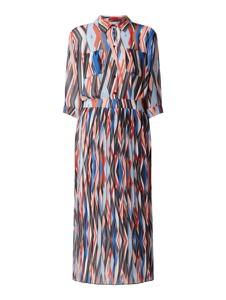 Sukienka Hugo Boss z długim rękawem w stylu casual prosta