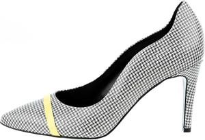 Szpilki Prima Moda ze spiczastym noskiem na szpilce na wysokim obcasie