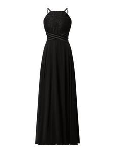 Sukienka Jake*s bez rękawów z szyfonu z dekoltem w kształcie litery v