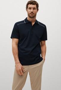 T-shirt Mango Man z bawełny w stylu casual