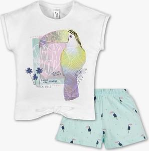 Piżama Here And There z bawełny dla dziewczynek