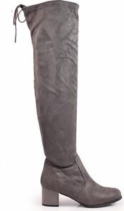 83734f59 kozaki muszkieterki brązowe - stylowo i modnie z Allani