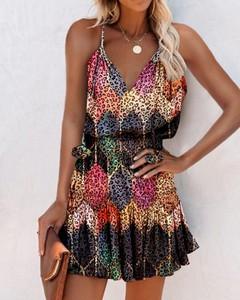 Sukienka Kendallme na ramiączkach w stylu casual z dekoltem w kształcie litery v