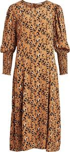 Sukienka Vila w stylu casual z długim rękawem
