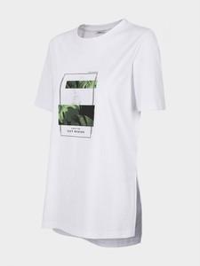T-shirt Outhorn z krótkim rękawem z okrągłym dekoltem w sportowym stylu