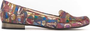 Baleriny Zapato z zamszu w stylu klasycznym