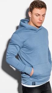 Niebieska bluza Ombre z bawełny