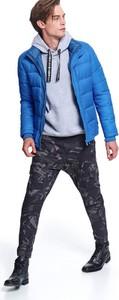 Niebieska kurtka Top Secret w stylu casual