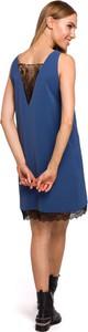 Sukienka MOE z tkaniny bez rękawów