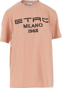 T-shirt Etro z bawełny