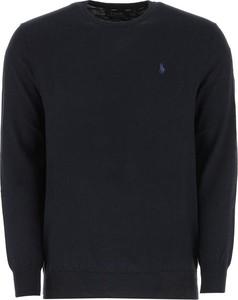 Niebieski sweter POLO RALPH LAUREN w stylu casual z dzianiny