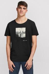 T-shirt Jack & Jones z bawełny w młodzieżowym stylu z krótkim rękawem