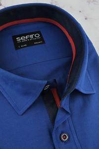 Koszula Sefiro z tkaniny z krótkim rękawem