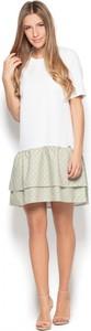 Sukienka Katrus mini z krótkim rękawem