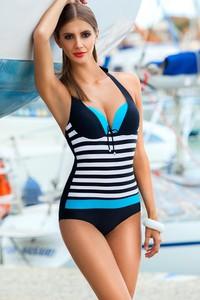 80834aa6215f15 strój kąpielowy jednoczęściowy sportowy usztywniany - stylowo i ...