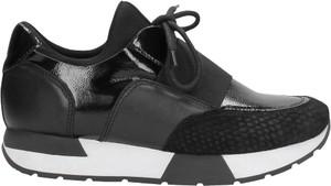 Czarne buty sportowe Wojas