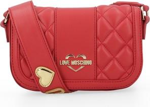 Torebka Love Moschino z aplikacjami na ramię w stylu casual
