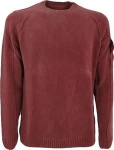 Brązowy sweter C.P. Company z bawełny w stylu casual